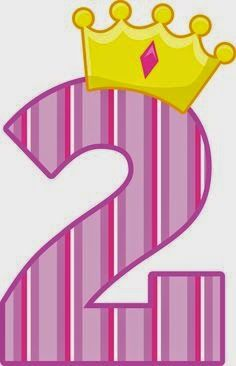 SGBlogosfera. María José Argüeso: CORONADOS Birthday Clipart, Birthday Cards, Bolo Da Peppa Pig, Hello Kitty Clipart, Girl Birthday, Happy Birthday, Petite Section, Clip Art, Birthday Numbers