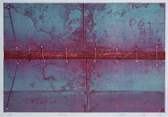 WALL-3 etching 1982 林孝彦 HAYASHI Takahiko 1982