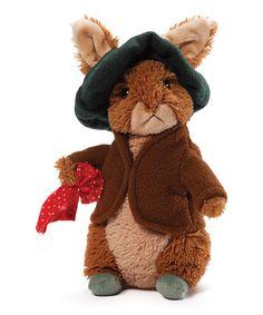 """Look at this #zulilyfind! GUND Benjamin Bunny 6.5"""" Plush Toy #zulilyfinds"""