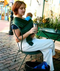 Nobody puts baby in a corner! Babywearing resources galore, from printables to instructions to finding a babywearing group near you! www.wrapsodybaby.com