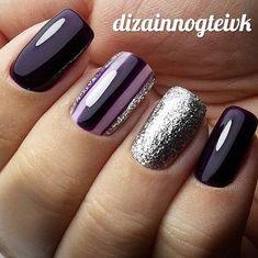 Purple Nails, gotta love it