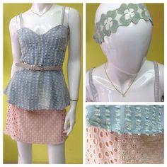 Día de muchas texturas... Hasta en los accesorios! Collar mexicano de @julietag_oficial #amolapeli #comenzamos #pila #texturas #denim #crochet #lace —