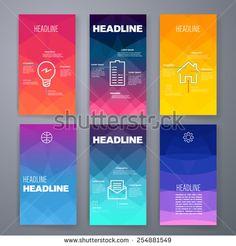 Templates. Design Set of Web, Mail, Brochures. Mobile, Technology, and Infographic Concept.  SaaS, web app design template. Mobile interface. UI template. Web UI app design.
