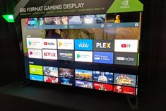 Nvidia sneaks into the TV business with its Shield-powered Big Format Gaming Displays.