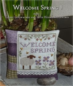Stitches by Carin: Welcome Spring !