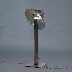 Table lamp designed by artist Janusz Król