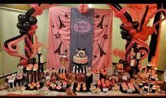 Parisian theme Sweets Buffet Debut Decorations, Debut Party, Parisian, Party Themes, Buffet, 18th, Sweets, Design, Gummi Candy