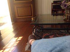 Curtindo férias com as amigas na casa da Neusinha.