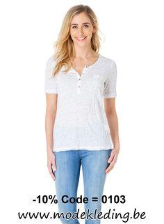 http://www.modekleding.be/Yest-Shirt-24500-Kolena-White