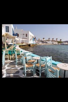 One of the most beautiful places I've ever visited in Mykonos Greece Mykonos Greece, Santorini, Mykonos Island, Beaches In The World, Places Around The World, We Are The World, Wonders Of The World, Places To Travel, Places To Go