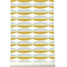 Roomblush - Oval Mosterdgrey - 50x1140cm