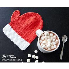 Free Easy Knit Dishcloth Pattern | Yarnspirations | Lily | Free Pattern