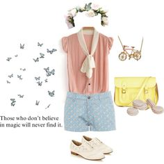 """believe in magic"" by sj-starrynight on Polyvore"