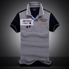 new summer autumn Air Force One men's boutique embroidery Aeronautica Militare lapelheavengifs Mens Designer Polo Shirts, Mens Polo T Shirts, 3d T Shirts, Shirt Men, Polo Shirt Embroidery, Embroidered Polo Shirts, Embroidery Dress, New Air Force One, Polo Shirt Design