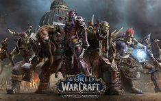 Download wallpapers World of Warcraft Battle for Azeroth, art, 2018 games, World of Warcraft, WoW