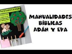 Manualidades Bíblicas, Génesis 1:27-28, Adán y Eva - http://cryptblizz.com/como-se-hace/manualidades-biblicas-genesis-127-28-adan-y-eva/