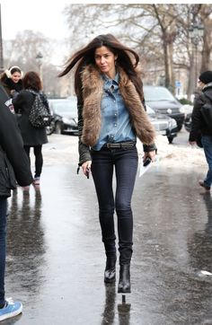 Barbara Martello, Paris fashion street SS'13