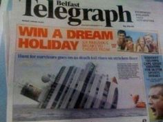 ...another newspaper editor asleep at the wheel...