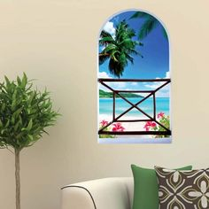 GET $50 NOW | Join RoseGal: Get YOUR $50 NOW!http://www.rosegal.com/wall-decoration/home-decor3d-stereo-seaside-landscape-799073.html?seid=2275071rg799073