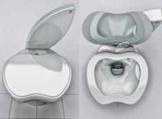 Apple iPoo Toilet - Interesting Creative Designs