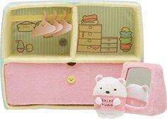 San-x Sumikko Gurashi - Sumikko Closet Plush Dolls, Doll Toys, Sweet Little Things, Kawaii Plush, Cute Stuffed Animals, Polly Pocket, Hobby Shop, Everything Pink, Plushies