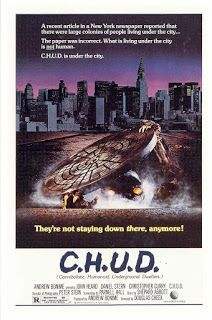 """ZombieBloodFights.com Blog: BLOOD:  YouTube Review of 'C.H.U.D."""" by Horrors of..."""