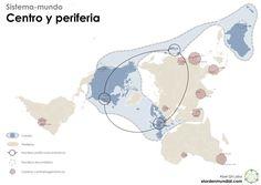 Un sistema-Mundo dividido en Centro y Periferia