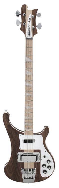 Rickenbacker 4003 W Series Bass With Walnut Body
