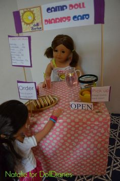 How to Make a Doll Cafe