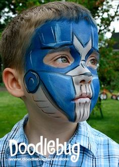 transformer Face Paint | Transformers – Optimus Prime