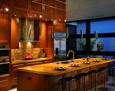 Tropical Kitchen / shutters / cabinets