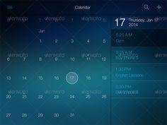 Flat Pad UI Set Vol. 2 by Yuriy_Kondratkov   GraphicRiver