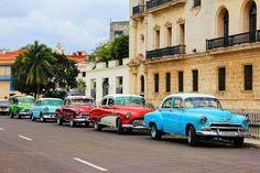 Les vieilles voitures de La Havane, à Cuba.