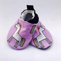 Buy Now Purple Unicorn Baby Shoes Rainbow Baby Booties Baby...