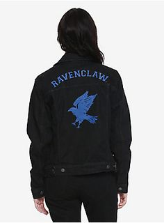 Represent your house // Harry Potter Ravenclaw Girls Denim Jacket
