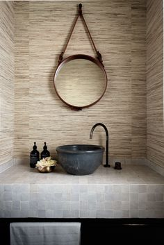 """Woven seagrass wallpaper by [Ascraft](http://www.ascraft.com.au/