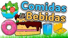 Food and drinks in Spanish - Learn Spanish for beginners and kids (comid...