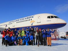 Fly to Antarctica