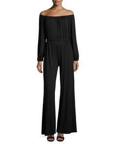 Paolo Off-the-Shoulder Jumpsuit  by Rachel Pally  | Shared by Fireman's Finds