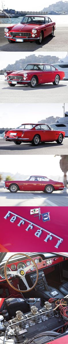 1963 Ferrari 330 America / s/n 5069 / 300hp 4.0l Colombo V12 / Pininfarina / Italy / red / 17-297