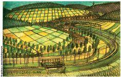 Matura 1952 | Nikifor - Wspomnienia Abiturientów Gimnazjum Męskiego im. Królowej Zofii w Sanoku Polish Folk Art, Gcse Art, First Art, Naive Art, Outsider Art, Moma, Caricature, Artsy Fartsy, Art Boards