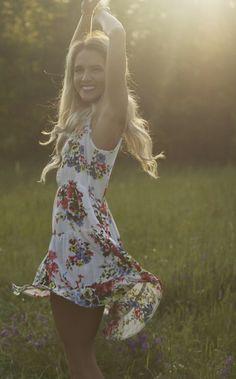 Spring Floral Dress | Fashion