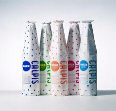 カルピス|佐藤卓|パッケージデザイン|幼いころから全色揃ったのをスーパーで見るとキレイだなーと思っていたものです。やはりはカルピスと言えばこの水玉の包装紙に包装されている瓶の方が好きです。