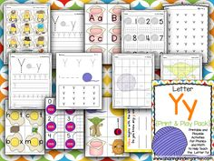 Letter Yy Activities