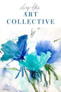 Shop the Art Collective Online for beautiful pieces to add to your home decor. Inspirational and One of a Kind.