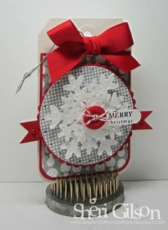Merry Christmas, DS81 by PaperCrafty - Cards and Paper Crafts at Splitcoaststampers