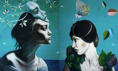 Lezzueck Asturias Masked ball #art