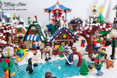 Flickriver: Most interesting photos from LEGO Winter Village pool Lego Winter Village, Space Photos, Cool Photos, Interesting Photos, Lego City, Legos, Gingerbread, Bricks, Style