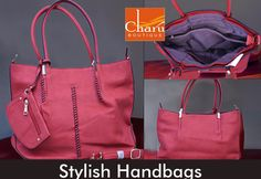 Glam-up your look with trendy #Handbags. Shop #purses #shoulderbags #slingbags #wallets #pouches #satchels #clutches #totebags #hobos at #CharuBoutique store #Nagpur