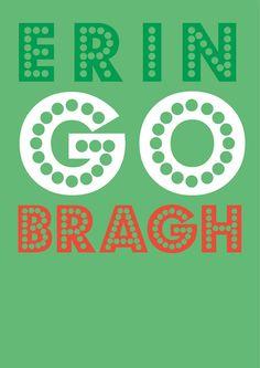 Ireland Forever - in Irish (Gaelic)